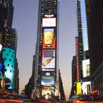 """Times Square at Dusk"" by dennisflood"