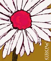 GROW THROUGH IT - WHITE DAISY