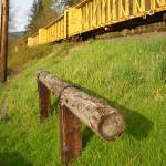 """Train Tracks At Cumberland, Wa."" by christophergombosky"