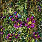 """""""Flower Forest"""" by WaterBetweenStones"""