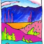 """""""Desert Vignette Portal"""" by ranchartist"""