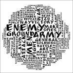 """The Art of War - circle bw"" by novmix"
