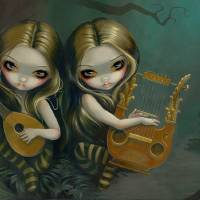 """Lute and Lyre"" by Jasmine Becket-Griffith"