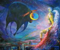 ANGELS OF ZODIAC. TAURUS, THE BULL