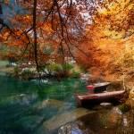 """""""Blausee en automne"""" by surinamensis"""