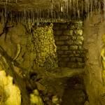 """Paris Catacombs, Cimetiere Montrouge Stalactites"" by undercity"