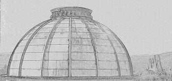 Adriance Memorial Library Dome