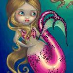 """""""Surprised Mermaid"""" by strangeling"""