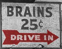 Brains just sign copy