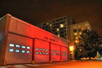 Fire Station 4 in Red