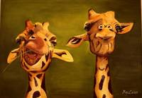 giraffe painting 2 buddies