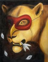 The Lioness and Her Mask