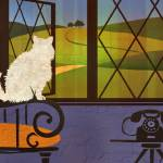 """""""Cat with a View IV"""" by BenjaminBay"""