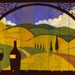 """Tuscan View III"" by BenjaminBay"