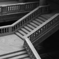 Stairs - Utah State Capital Building Art Prints & Posters by Oscar Aguilar