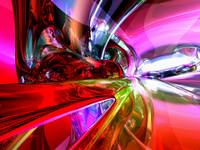 Runaway Color Abstract