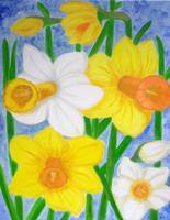 Spring flowers-Daffodils