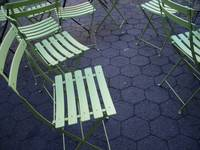 Electric Green Folding Chairs