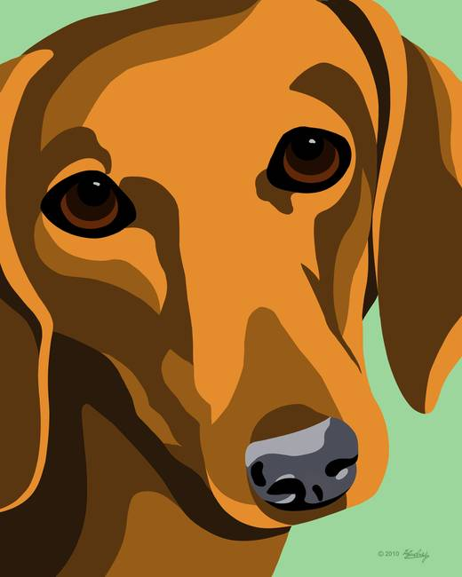 "Dachshund Wall Art stunning ""dachshund"" artwork for sale on fine art prints"