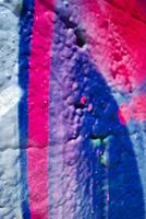 Graffiti - Fusia and Blue