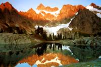 Mount Shuksan and Lake Ann