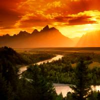 Snake River Art Prints & Posters by Dean Wittle