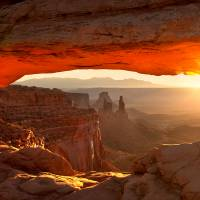 """Mesa Arch The Canyonlands"" by Peter B. Kunasz"