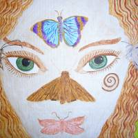 Butterfly Fairy 1 Art Prints & Posters by Carol Swing