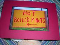 hot boiled peanuts red mat