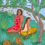 """""Under The Breadfruit Tree"""" by RachelScottArt"