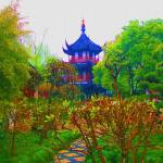 """another chinese garden"" by VolkerBaecker"