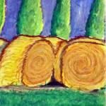 """Round Bales"" by FallenPegasus7"
