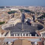 """View atop St. Peter"