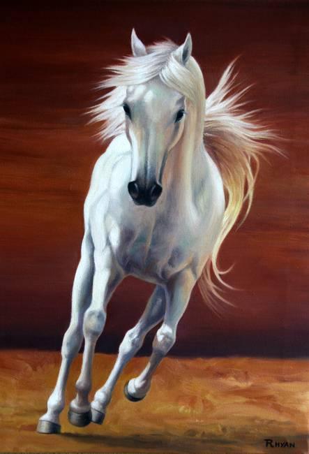 Contemporary Quot Arabian Horse Quot Artwork For Sale On Fine Art