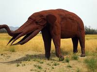 Elefant Sculpture