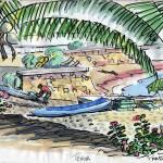"""""""Tehua Mixtle Waterfront"""" by Paarlberg"""
