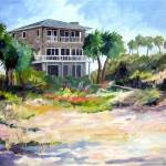 """Atlantic Beach House"" by KAbrahamson"