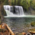 """0163 Upper Falls Panoramic--Upper Lewis River"" by vincentlouis"