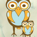 """owl family"" by cliftondesigns"