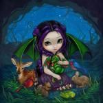 """""""Dragonling Garden III"""" by strangeling"""