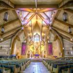 """St Peters Sanctuary HDR"" by JGetsinger"