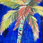 """Cobalt Palm"" by KAbrahamson"
