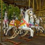 """Carrousel Horses"" by ipsofactophoto"