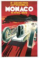 Monaco Grand Prix by Robert Falcucci