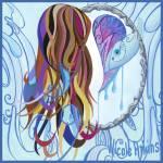 """Inspired By Nicole Atkins"" by FelipeBermudezPrints"