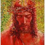 """Jesus stood led him unto Pilate."" by 1004art"