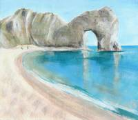 Durdle Door summer beach