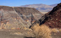 The strata and cinder on the Panamint Range, Calif