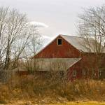 """The Old Red Barn"" by Rudderow"