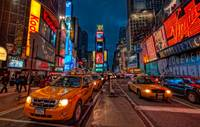 The Taxis Of NYC- Times Square